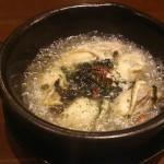 牡蠣と岩海苔アヒージョ
